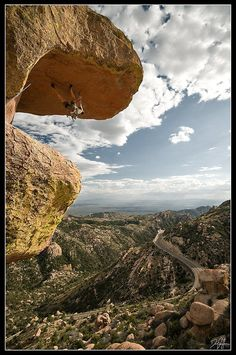www.boulderingonline.pl Rock climbing and bouldering pictures and news Mount Lemmon #rockcl