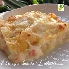 Lasagne bianche con burrata e salmone