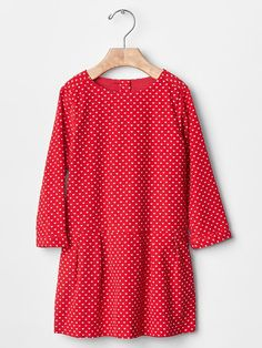Currently available - Mini heart cord dress | Gap