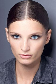 Lush Lashes at Gucci - Best Spring 2013 Fashion Week Makeup Looks