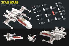 Lego Star Wars Clone, Lego Star Wars Mini, Clone Wars, Star Trek, Star Wars Clones, Darth Vader Action Figure, Star Wars Bedroom, Micro Lego, Lego Boards