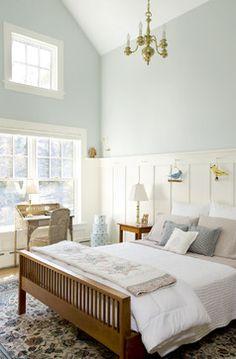 Paint Color for the Masterbedroom « Preserving Home Basics - behr aqua breeze