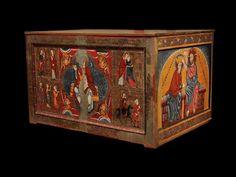 Mestre de Lluçà Altar de Santa Maria de Lluçà  Tallers de Vic Segon quart del segle XIII