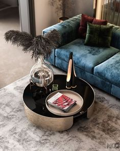 This modern coffee table is the perfect pairing of decoration and lighting. It makes the ideal complement to this living room, giving it a touch of elegance and good taste. #bocadolobo #contemporarydesign #designideas #luxuryfurniture #interiordesigntrends #luxurybrand #moderndesign #luxurydesign #luxuryhomes Best Interior Design, Interior Design Inspiration, Luxury Interior, Modern Contemporary Living Room, Modern Rugs, Living Room Essentials, Modern Light Fixtures, Modern Lighting, Rug Inspiration