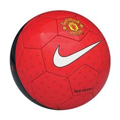 Show your pride in Manchester United with the Nike Manchester United Supporter's soccer ball. soccercorner.com