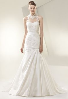 My favorite from the new fall 2014 Enzoani bridal collection