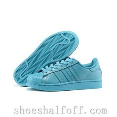 ce95ad7362e3 Mens Womens Adidas Originals Pharrell Williams Stan Smith Tennis Shoes Lake  Blue White B31611
