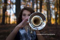 Senior Photo Session, Senior Pictures, Senior Portraits, Senior Picture ideas for Girls, Senior Photography, senior band pictures, Haley Morrison | Joseph Brock Photography