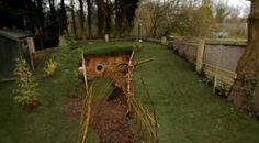 George Clarke Amazing Spaces - underground family room garden warren
