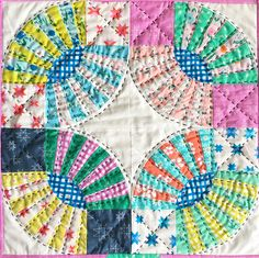 Pickle Dish Mini Quilt - Sunny Day