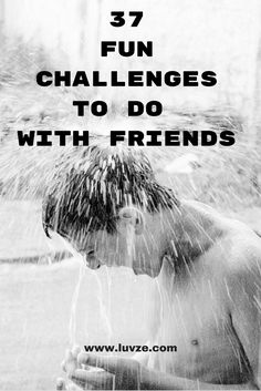 One great way to have fun with your friends is to play a challenge game. In this article, we have listed 37 fun challenges to do with friends. Friend Challenges, Challenges To Do, Things To Do At Home, Stuff To Do, Fun Things, Sleepover Activities, Activities For Kids, Relationship Games, Ro Do