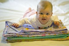 How to Make a Simple Baby Blanket