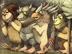 Maurice Sendak «Where The Wild Things Are»