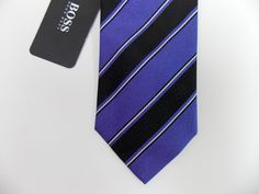 Ted Baker London 100/% Silk Necktie Tie $85 Striped Floral Paisley Made in US NWT