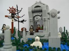 All Nine Levels of Hell from Dante's Inferno Rebuilt in LEGO | Geekosystem