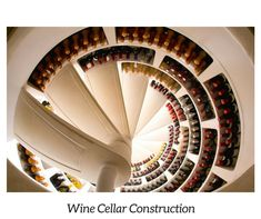 Spiral cellar design gives your home that special thing everyone remembers they saw at your house. These spiral cellars can be placed indoor or outdoor! Wine Cellar Modern, Spiral Wine Cellar, Wine Cellar Design, Modern Cottage, Wine Collection, Secret Rooms, Storage Design, Decoration Design, Wine Storage