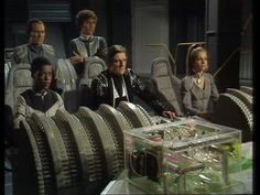 Flight deck of the Scorpio Classic Doctor Who, Sci Fi Shows, Classic Sci Fi, Sci Fi Tv, Kids Shows, Sci Fi Fantasy, Live Action, Science Fiction, Flight Deck