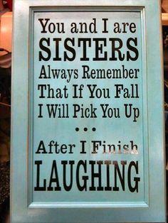 I love my sister xxxx
