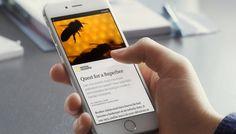 ONE: Instant Articles, la nueva apuesta de Facebook para ofrecer historias originales e interactivas
