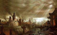 Science Fiction - Post Apocalyptique - Apocalyptique - Hellgate London Fond d'écran