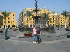 Plaza, Lima, Peru