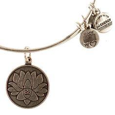 Alex & Ani lotus bracelet, I want this.