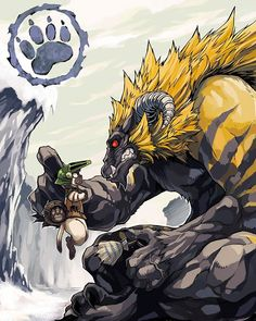 Monster Hunter [Drawn by 布施龍太] - (#mh #mh4 #mh4u #mh4g #mhx #mhg #monsterhunter…