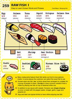 Easy to Learn Korean Language 251 ~ 260 Korean Words Learning, Korean Language Learning, Korean Phrases, Korean Quotes, Seoul Korea Travel, Korean Rice, Korean Food, Learn Hangul, Korean Writing