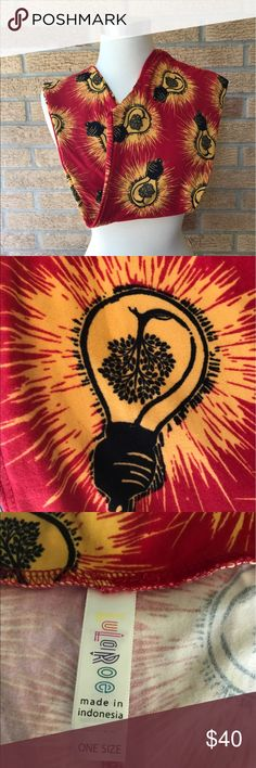 🆕NWT Lularoe OS light bulb tree leggings Light bulbs with little trees inside LuLaRoe Pants Leggings