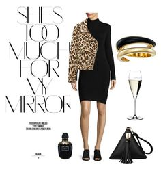 """""""Gold"""" by isabelle-talbot on Polyvore featuring mode, Rika, Highline Collective, Alexander McQueen, Riedel et Michael Kors"""