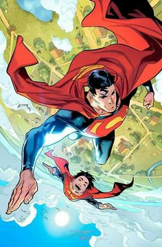 "superhero-news: ""Superman Variant Cover by Jorge Jimenez "" Mundo Superman, Superman Art, Superman Man Of Steel, Superman Family, Superman Stuff, Dc Comics Heroes, Arte Dc Comics, Marvel Comics, Comic Book Artists"