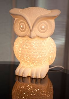 Nocturn-owl Lifestyle Lamp, #ModCloth