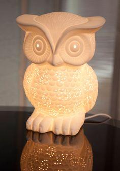 Nocturn-owl Lifestyle Lamp, #ModCloth