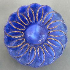 moonglow glass button
