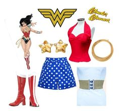 """Unleash your inner wonder woman with Vivien of Holloway"" by vivienofholloway on Polyvore"