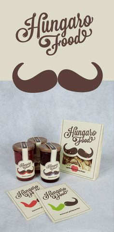 Hungaro-Food-Packaging-design-using-moustache-creatively
