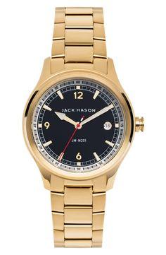 Jack Mason Nautical Bracelet Watch, 36mm