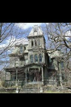 Old Wagner Mansion Palatine bridge, NY. At one time the most beautiful home in the area...not so anymore