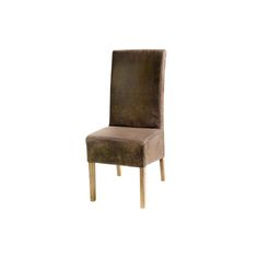 French country fuax dining chair