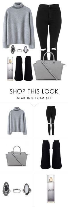 """""""First Outfit of 2k16 !"""" by maevaxstyle ❤ liked on Polyvore featuring Topshop and Michael Kors"""