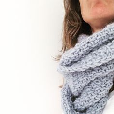 Fluted Cowl, pattern by Purl Bee
