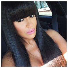 Those bangs!!