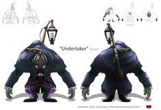 Undertaker, Yorick by The-Bravo-Ray.deviantart.com on @deviantART