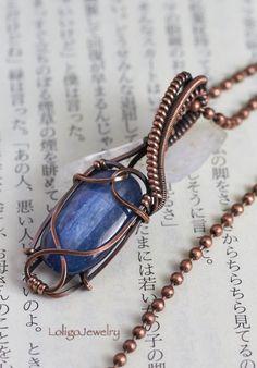 Copper Jewelry, Wire Jewelry, Jewelry Art, Handmade Jewelry, Copper Earrings, Wire Wrapping Crystals, Stone Wrapping, Wire Wrapped Necklace, Wire Wrapped Pendant