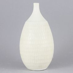 Stig Lindberg (1963) Unique White Vase
