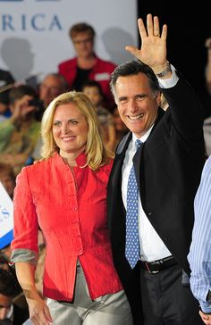 Ann Romney..we almost had a first lady with class again