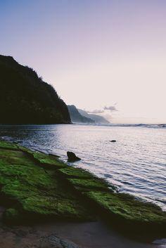 Kee Beach Sunset #2 (by iamkory)
