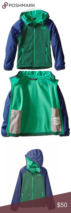 The North Face Canyonlands track Hoodie Jacket NEW The North Face Canyonlands  track Hoodie Jacket NEW  Green Heather Youth/ outdoor and for travel ... big boys size L & XL Great jacket for Summer. Lightweight . New Authentic.     JUST REDUCED TO SELL!!! The North Face Jackets & Coats