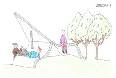 Desenho projectual by Luísa Barreto, via Behance