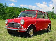 red vintage mini cooper | by The Estate of Things